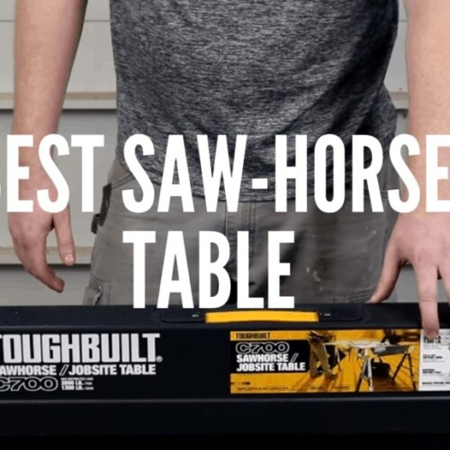Best Saw-Horse Table