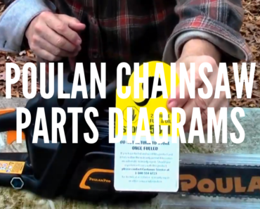 Poulan Chainsaw Parts Diagrams